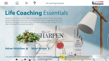 Sharpen E-learning: Life Coaching Essentials