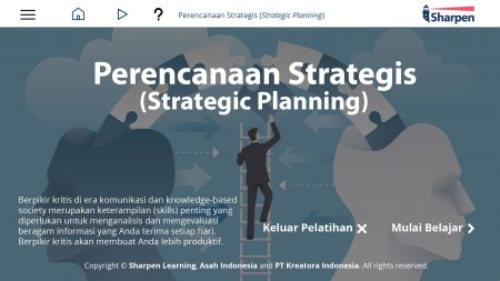 Sharpen E-learning: Perencanaan Strategis (Strategic Planning)